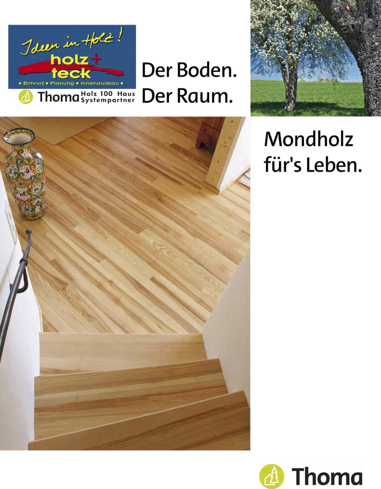 Holzböden aus Mondholz - holz+technik Pünder Rebholz GbR Ideen in Holz!