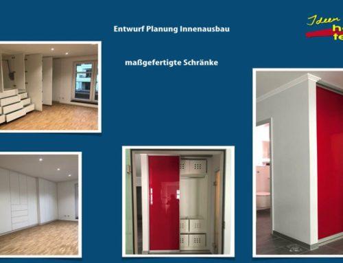 individueller Möbel- Innenausbau jeglicher Art mit dem Qualitätsstandard Made in Germany